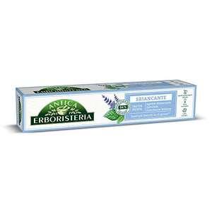 Pasta dentifrica sabor menta marca Antica Erboristeria 75 ml