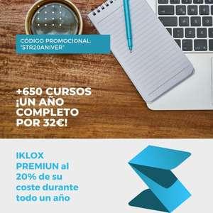 +600 Cursos de ingenieria IKLOX Premium: Suscripción 1 año = 32€ (descarga certificados incluidos)