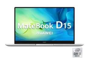 "Portátil Huawei Matebook D15 con i3, 8GB, 256GB, 39,62 cm - 15,6"" + cupón de 100€"