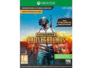 Xbox One PlayerUnknown's Battlegrounds