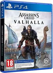 PS4 Assassin's Creed Valhallaen mediamarkt, Amazon iguala y por un poco más pone el de ps5
