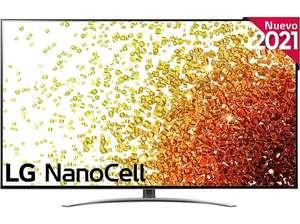"TV LED 65"" - LG 65NANO916PA.AEU, UHD 4K, α7 Gen4, webOS 6.0, Smart TV, Asistentes de voz, Dolby Atmos, Negro"