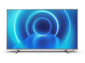 """TV LED 70"""" - Philips 70PUS7555/12, UHD 4K, 3840 x 2160 píxeles, Smart TV, P5, 3 HDMI, 2 USB, Plata"""