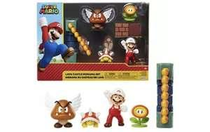 Packs de figuras Mario bros dioramas