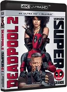 Deadpool 2 - 4K + Bluray EDICIÓN 4 DISCOS