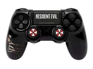 Funda + grips - FR-TEC Umbrella Pack Resident Evil, Para DualShock 4 de PS4, Negro + Sticker