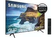 "TV QLED 55""- Samsung 55Q70R, 4K UHD, IA 4K, Direct Full Array, HDR 1000, Quantum dot, Smart TV"