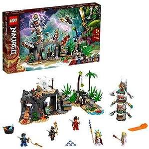 LEGO 71747 Ninjago Aldea de los Guardianes Juguete de construcción con Mini Figuras de Ninja
