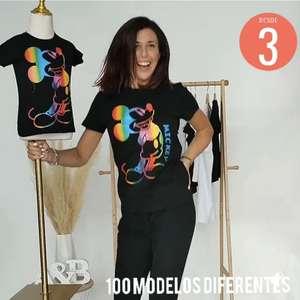 Camisetas a 3 euros para toda la familia