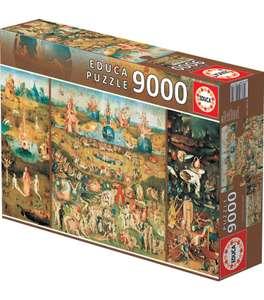 """Puzzle Educa 9000 piezas, """"El Jardín de las delicias"""""""