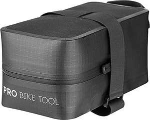 Bolsa de sillín de bicicleta con correa para bicicleta de carretera o montaña