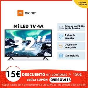 """Xiaomi Mi TV 4A 32"""" (Desde España)"""