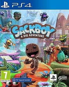 Juego PS4 Sackboy A Big Adventure!