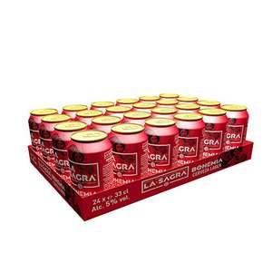 La Sagra Bohemia Cerveza Lager estilo Pilsener -pack 24 latas