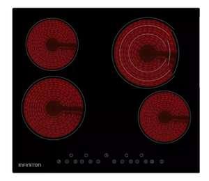 Vitrocerámica Infiniton VIT4T23 de 4 Zonas, 7000 W, Táctil (+Newsletter)