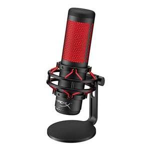 HyperX QuadCast Table Microphone Negro, Rojo - Micrófono