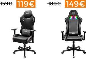 Rebajas en selección de sillas gaming GAME