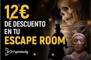 Código de descuento para Experiencity Escape Room