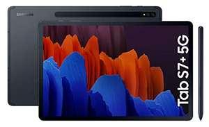 """Tablet Samsung Galaxy Tab S7+ 5G 256 GB - Tablet de 12.4"""" QHD (5G, Snapdragon 865 Plus, RAM de 6GB, 256 GB, Android 10, S Pen incluido)"""