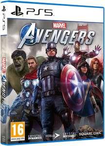 Videojuego marvel's Avengers PS5