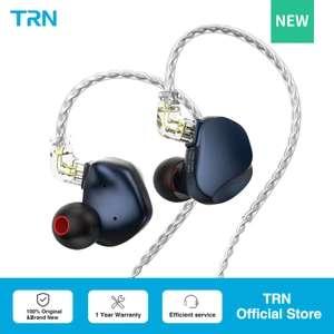 Nuevos Auriculares híbridos TRN VX Pro, 18 altavoces (1DD + 8BA)
