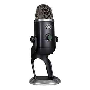 Blue Micrófono Yeti X profesional con condensador USB y medición de alta resolución