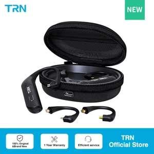 Nuevos Adaptadores Bluetooth TWS TRN BT30 para auriculares con cable reemplazable