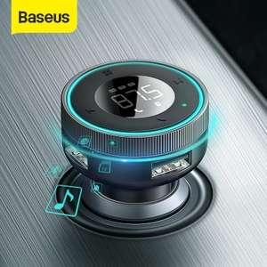 Baseus Modulador de transmisor FM para coche BT 5.0