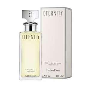 Calvin Klein Eternity, Eau de Parfum Spray para mujeres, 1 paquete (1 x 100 ml) 25/09 10.00am