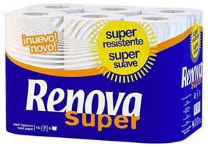 Renova Papel Higiénico Super   12 Rollos