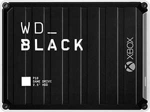 Disco duro externo HDD WD_BLACK P10 Game Drive de 5 TB