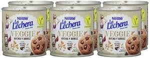 Pack de 6 botes La Lechera Veggie 370g sin gluten