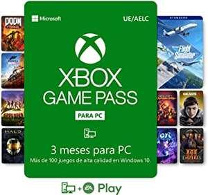3 Meses XBOX Game Pass para PC