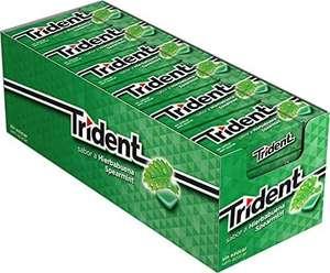 Paquete de 24 Trident Fresh Gragea Hierbabuena
