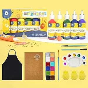 Kit Pinturas lavables para niños solo 5,99€