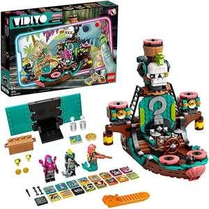 LEGO 43114 VIDIYO Punk Pirate Ship, Creador de Vídeos Musicales de Juguete, App Realidad Aumentada, Set con 3 Mini Figuras