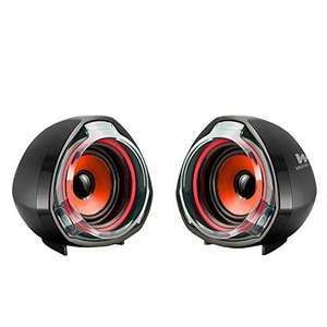 Altavoces para PC Woxter Big Bass 70 Red (15W) por sólo 7,91€