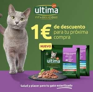 1€ de descuento para tu compra de ultima fit & Delicious