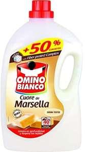 Detergente líquido marsella Omino Bianco 40 lavados.