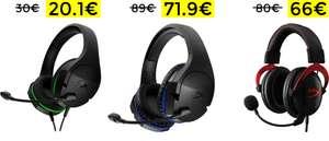 Preciazos en auriculares Gaming HyperX