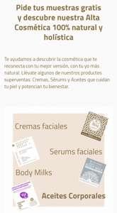 Muestras gratis de Serums,Bodymilks y cremas faciales de la marca Golden Pyramide