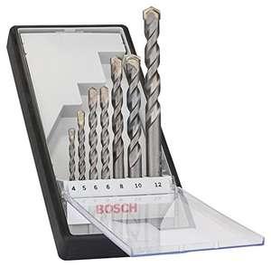 Bosch Professional 7pzs. CYL-3 brocas para hormigón Set, para hormigón, Robust Line, Diámetro 4–12 mm, accesorios taladro percutor