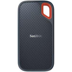 SanDisk Extreme SSD portátil 2TB - hasta 550MB/s velocidad de lectura