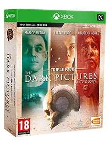 The dark pictures triple pack XBOX y otros packs de la saga