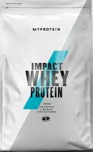 Myprotein Impact Whey Protein - 1 Unidad, 1000 g