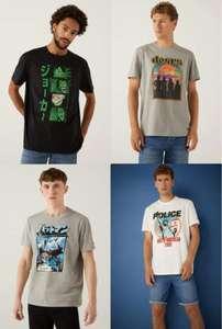 RECOPILACION de Camisetas por 5.99€/Unidad en Springfield