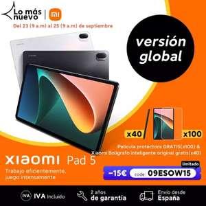 Xiaomi Pad 5 vuelve a estar disponible con la oferta.