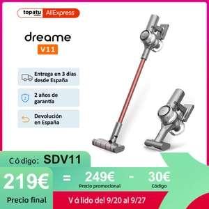 Aspirador inalámbrico Dreame V11 - Desde España
