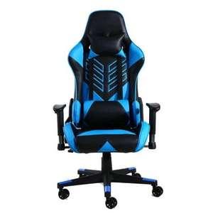 F70 Silla Gaming Azul Negra
