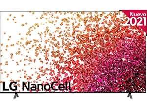 "TV LED 75"" - LG 75NANO756PA NanoCell + Reembolso 200€ de LG"